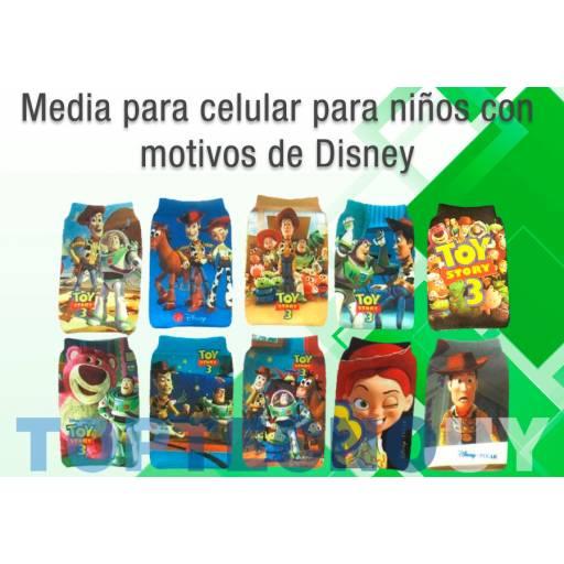 MEDIAS O FUNDA DE CELULARES DISEÑO DISNEY