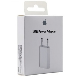 CARGADOR ORIGINAL APPLE 5W USB IPHONE XR XS MAX X 8 7 6 5 Y PLUS