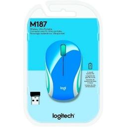 MINI MOUSE INALAMBRICO USB LOGITECH M187