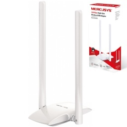 ADAPTADOR EXTERNO USB 2.0 WIFI 300MBPS INALAMBRICO WI-FI MERCUSYS MW300UH
