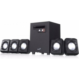 PARLANTE HOME THEATER SW-5.1 1020 JACK 3.5 AUX 26W GENIUS