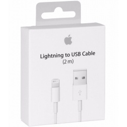 CABLE LIGHTNING DATOS ORIGINAL APPLE IPHONE IPAD 2 METROS 5,6,7,8 X 10 XS XR MAX