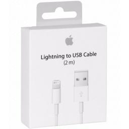 CABLE LIGHTNING DATOS ORIGINAL APPLE IPHONE IPAD 2 METROS 5,6,7,8 X 10 XS XR MAX