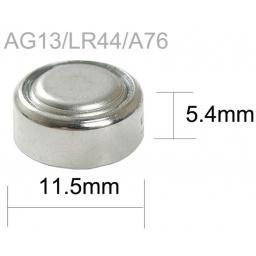 PILA BATERIA ALKALINA AG13 LR44 A76 357 RELOJ