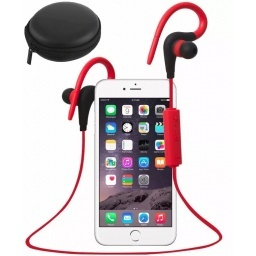 AURICULARES BLUETOOTH DEPORTES RUNNING + BOLSO