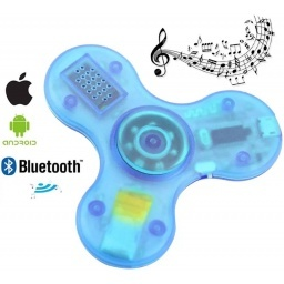 FIDGET SPINNER CON MUSICA BLUETOOTH LUCES LED