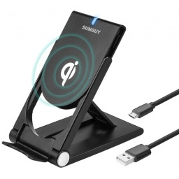 CARGADOR INALAMBRICO QI WIRELESS CHARGER IPHONE X  8  8 PLUS  S8  S7  S6