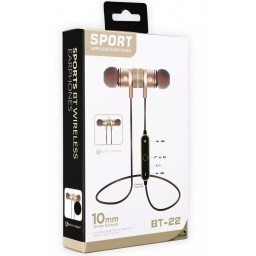AURICULARES WIRELESS STEREO BLUETOOTH MANOS LIBRES MAGNETICO