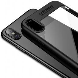 PROTECTOR PREMIUM FONDO TIPO CRISTAL AUTO FOCUS IPHONE X 10  XS