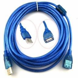 CABLE EXTENSION ALARGUE USB 2.0 MACHO HEMBRA 10MT METROS