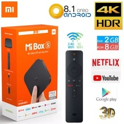 TV BOX MI BOX S XIAOMI MI SMART ANDROID TV 4K