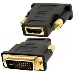 FICHA O ADAPTADOR DVI 24+1 MACHO HDMI HEMBRA