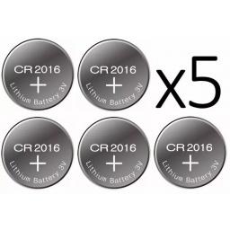 PILA BATERIA CR2016 CONTROL REMOTO VS DISPOSITIVOS X 5 / X5