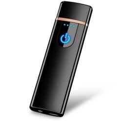 ENCENDEDOR ELECTRONICO DE CIGARILLOS RECARGABLE USB METAL