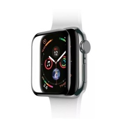 PROTECTOR VIDRIO TEMPLADO APPLE WATCH RELOJ 40MM 5D 9D 9H (SERIE 4 Y 5)