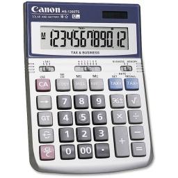 CALCULADORA DIGITAL CANON NUMERO GRANDES TAX BUSINESS HS-1200TS