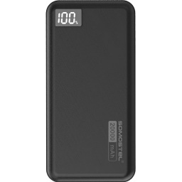 POWER BANK O BATERIA RESPALDO BACKUP 20000MAH SOMOSTEL DY03