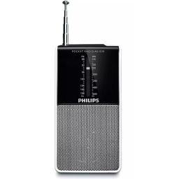 MINI RADIO COMPACTA DE BOLSILLO FM / AM PHILIPS MODELO AE1530