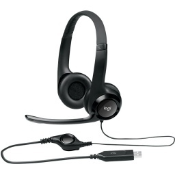 AURICULARES VINCHA HEADSET LOGITECH H390 USB CLEARCHAT
