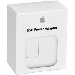 CARGADOR ORIGINAL APPLE PARA IPAD 1, 2, 3 Y 4 12W