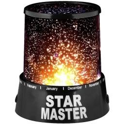 LAMPARA VELADORA PROYECTOR DE ESTRELLAS LUZ LED STAR MASTER