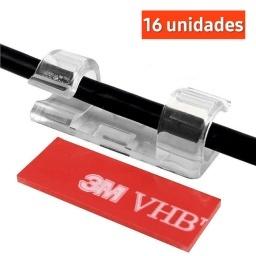 ORGANIZADOR PARA CABLE O GUIA ACOMODAR CABLES 16 UNIDADES (GRANDE)