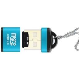 LECTOR DE TARJETAS DE MEMORIA MICRO SD TIPO LLAVERO MICRO-SD USB 2.0