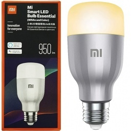LAMPARA LUZ MI SMART LED WIFI RGB MI XIAOMI E27 GOOGLE Y AMAZON ALEXA