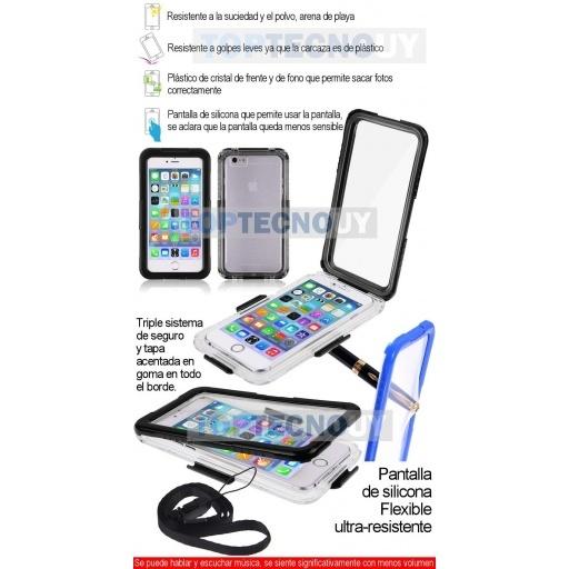 funda iphone 5 resistente agua
