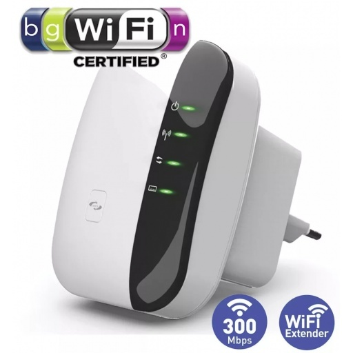 ROUTER REPETIDOR EXTENSOR WIFI 300MBPS WIRELESS-N