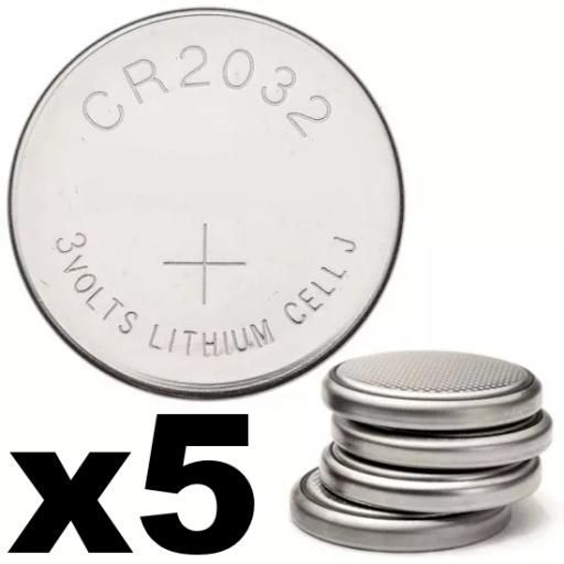 PACK X5   PILA BATERIA CR2032 CONTROL REMOTO DE MONOPOD MOTHERBOARD ( 5 UNIDADES )