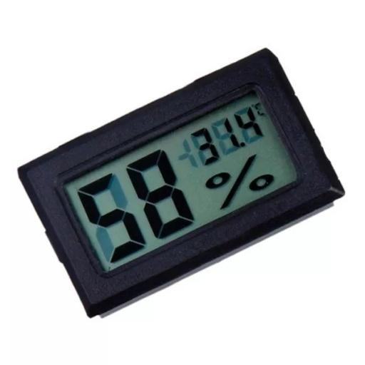 Mini Termometro Digital Con Sensor De Humedad Hogar 21 x 4.6 x 9cmadaptor input. mini termometro digital con sensor de humedad