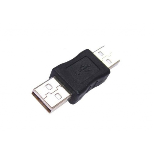 ADAPTADOR O FICHA USB 2.0 MACHO - MACHO