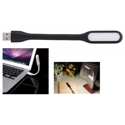 LAMPARA LED LINTERNA LUZ USB NETBOOK O NOTEBOOK