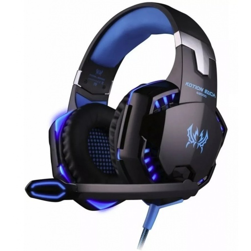 AURICULARES GAMER PARA PC PS4 ANDROID 7.1 USB EXTRA BASS