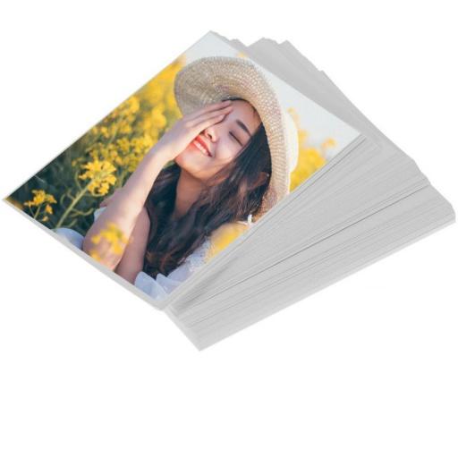 PAPEL FOTOGRAFICO BRILLANTE A6 10X15CM X 50 HOJAS 230G
