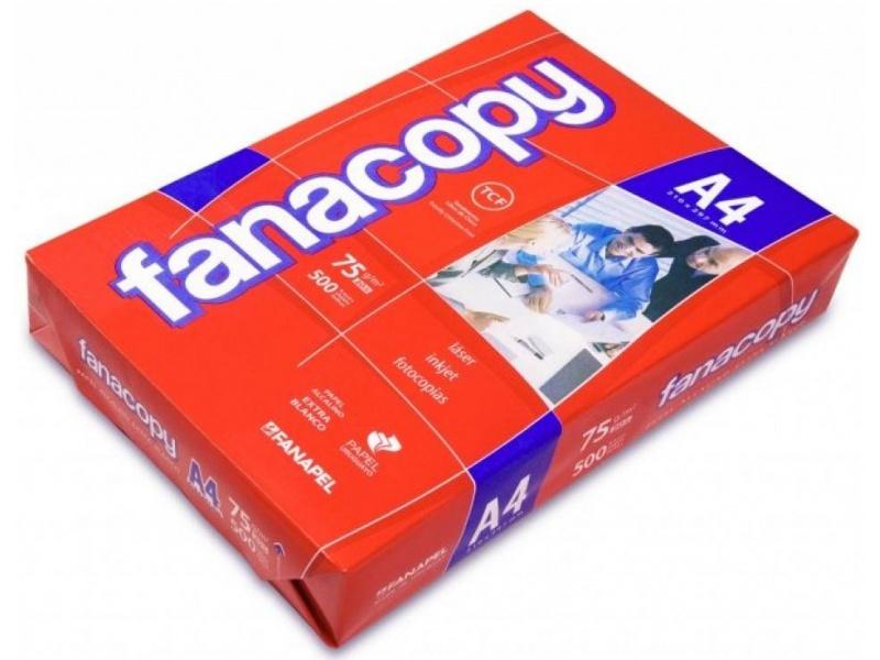BLOCK DE HOJAS PAPEL A4 FANACOPY 75G