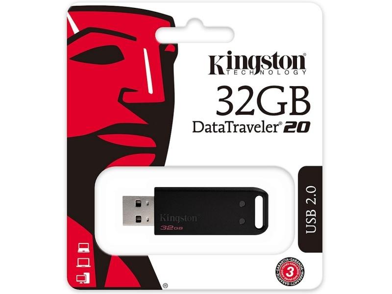 PEN DRIVE 32GB KINGSTON DATATRAVELER 20 PENDRIVE USB 2.0