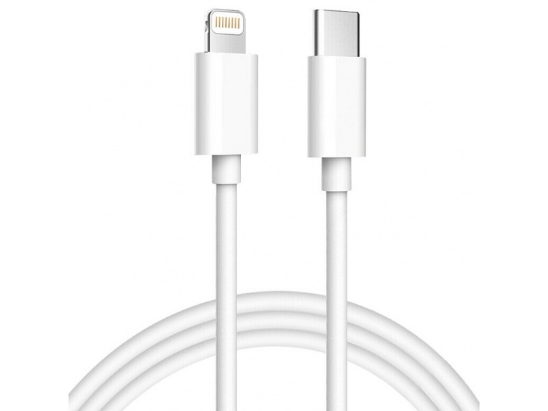 CABLE USB-C LIGHTNING DATOS Y CARGA RAPIDA COMPATIBLE 2 METROS IPHONE 11 12 TIPO TYPE